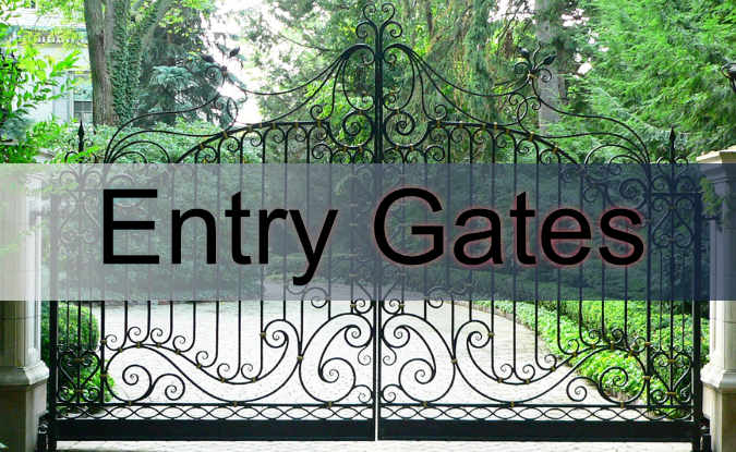 our entry gate services iron works
