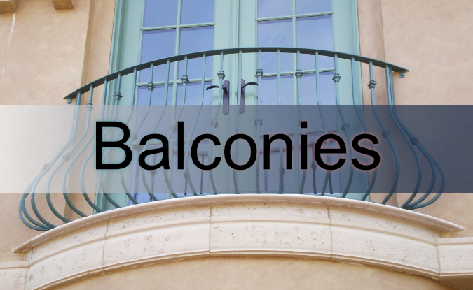 3cs iron balconies for your home