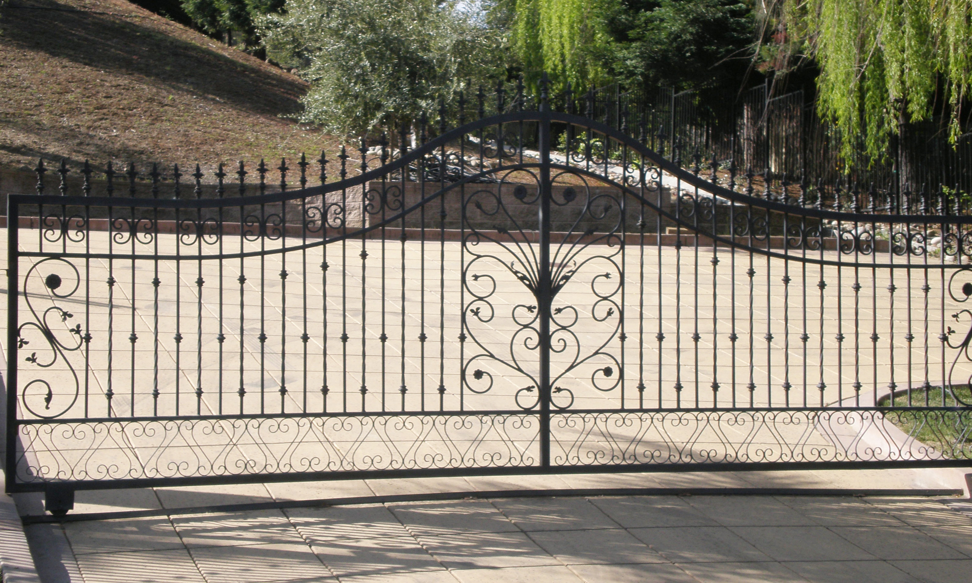 iron entry gates