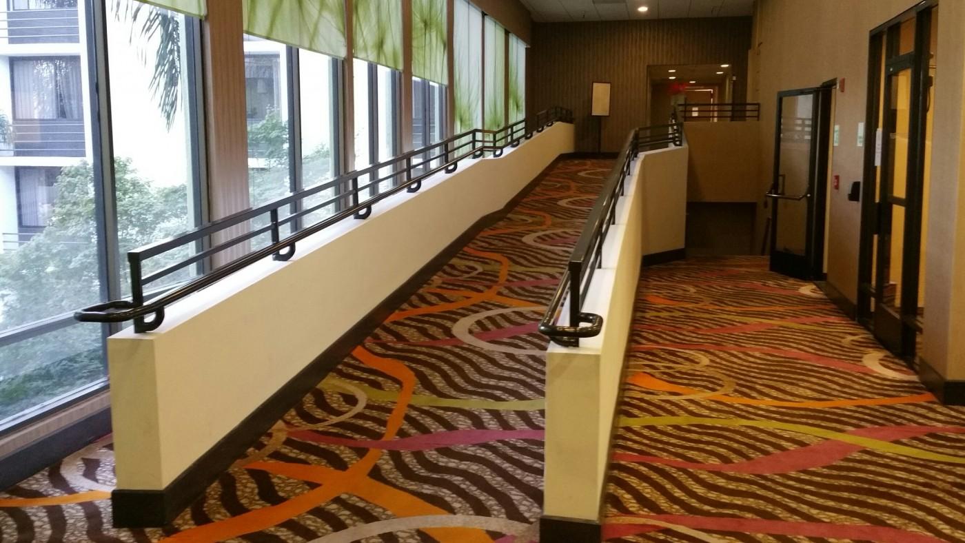 Holiday Inn Ramp rail 1