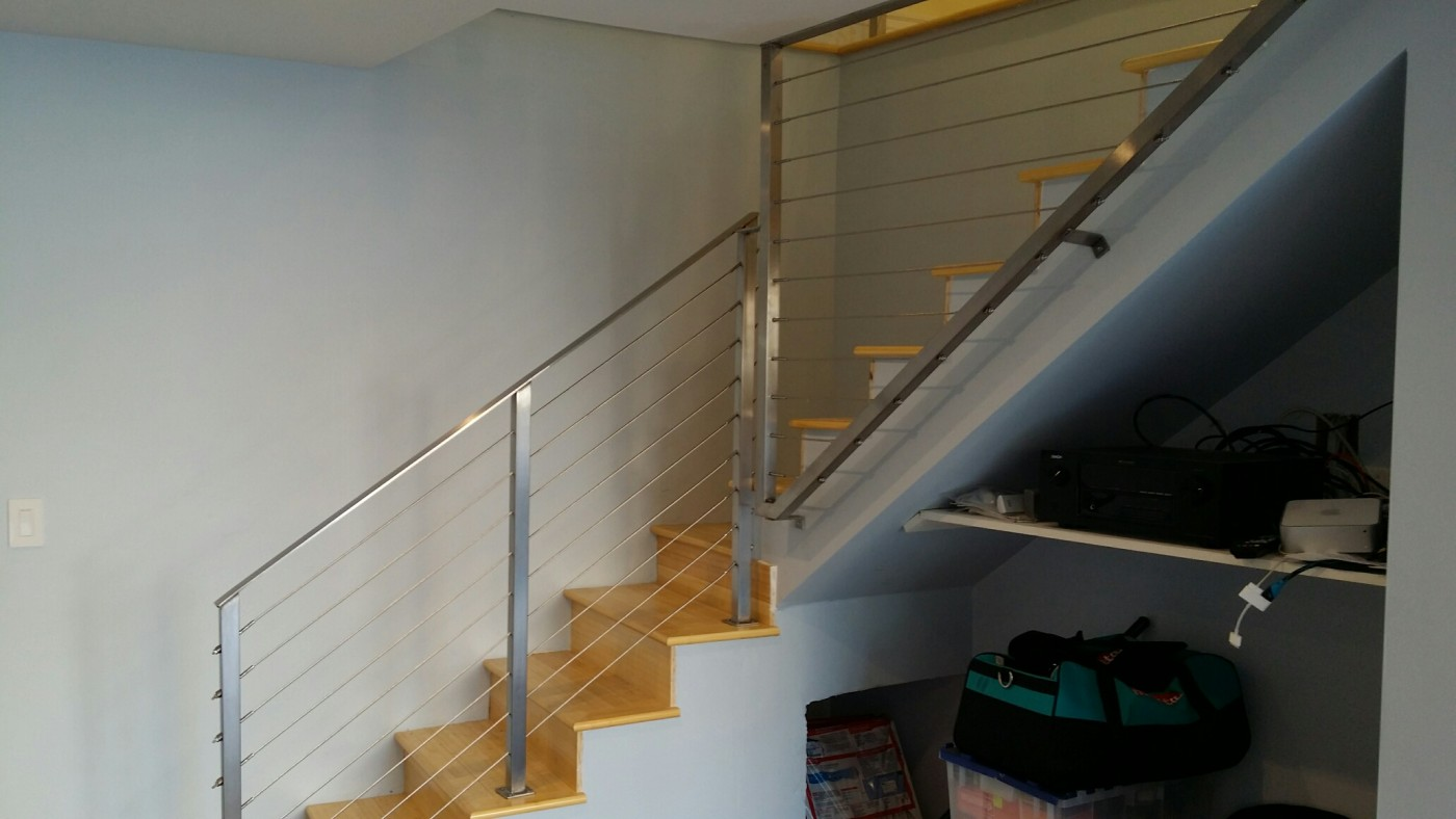 stainless steel cable railing 1
